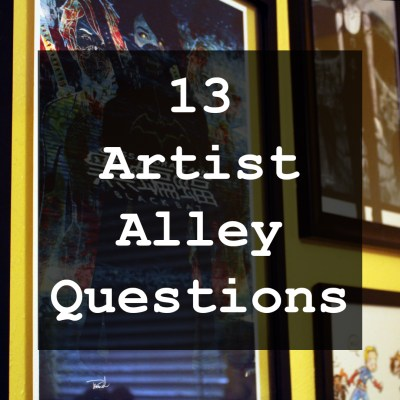 13 Artis Alley Questions Cover Image