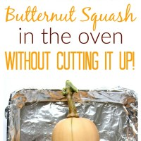 How to Roast a Whole Butternut Squash in the Oven