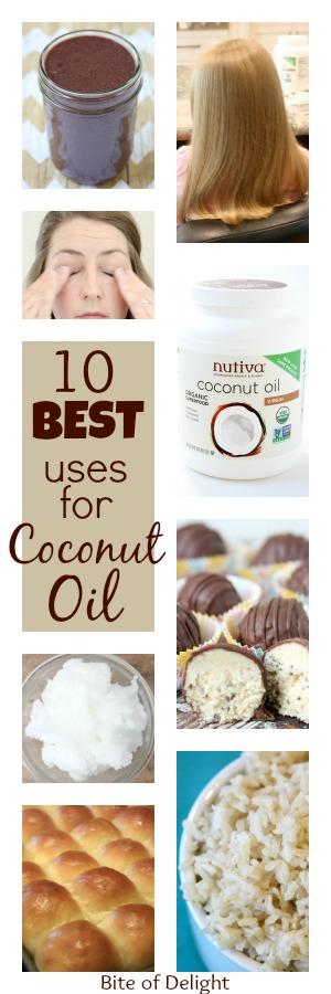 10 Best Uses for Coconut Oil   Hair Mask
