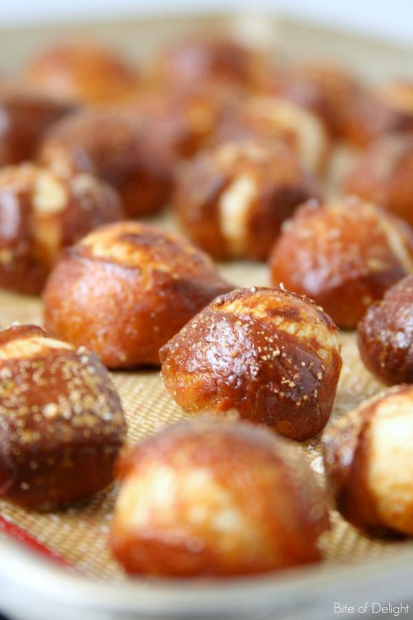 Soft Pretzel Bites | Snack Food | Recipe