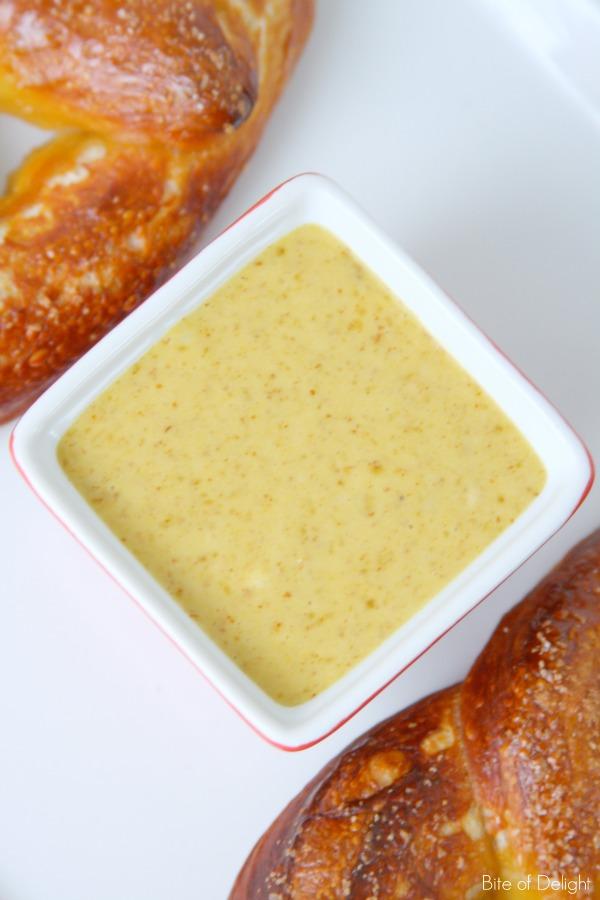 Sweet Mustard Dipping Sauce | Game Day | Recipe
