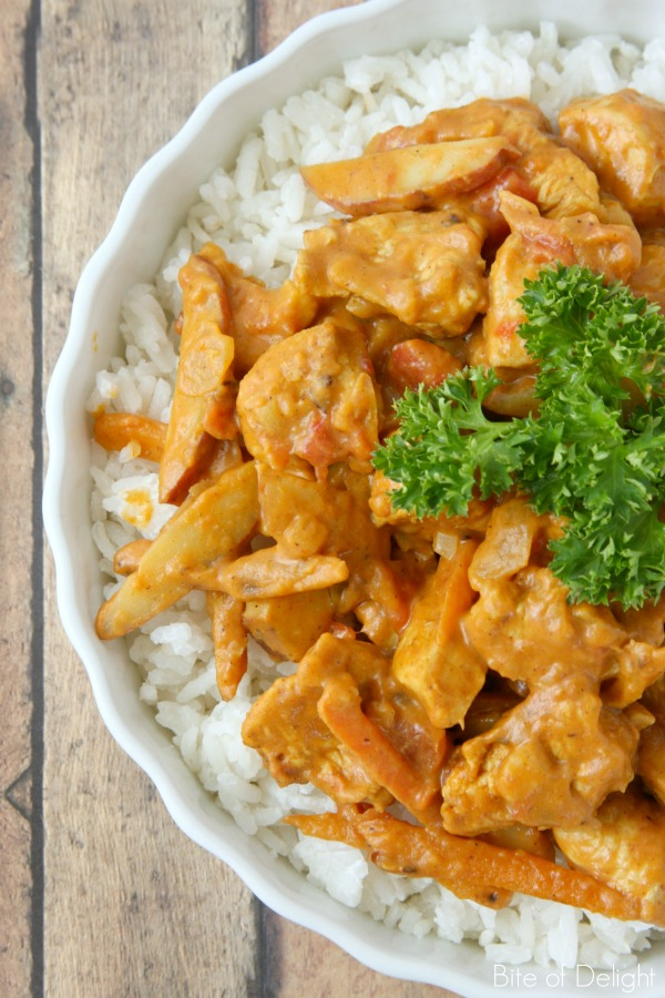 Easy Chicken Curry 2