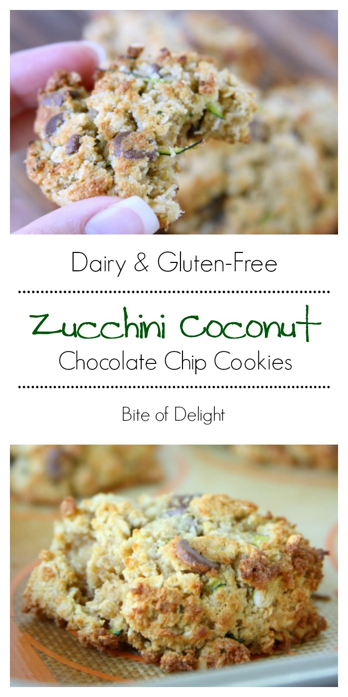 Gluten-Free Zucchini Chocolate Chip Cookies | Easy Recipe | Treat Recipe | Dairy-Free