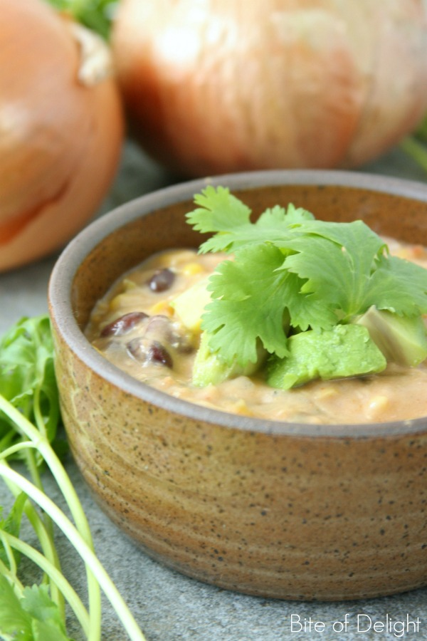 Creamy Chicken Fajita Soup