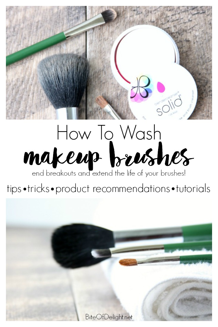 How To Wash Makeup Brushes | Stop breakouts from dirty brushes! | DIY Beauty Recipes