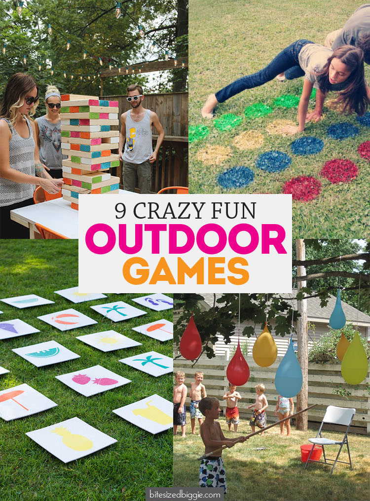 Fun Outside Party Games