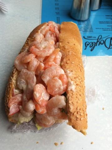 Shrimp sandwich. biteslife.com