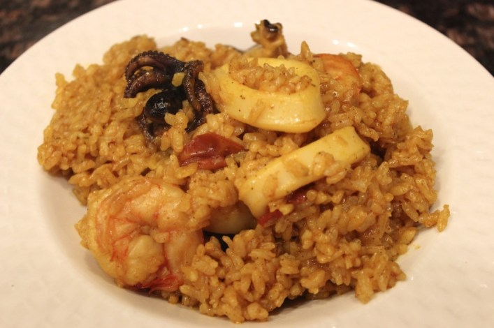 Seafood rice recipe. biteslife.com