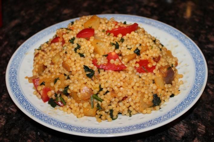 israeli cous cous recipe. biteslife.com