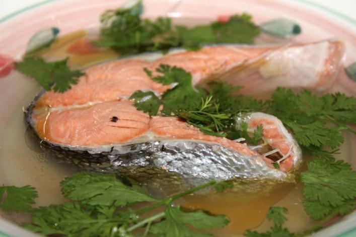 Wild sockeye salmon soup recipe. biteslife.com