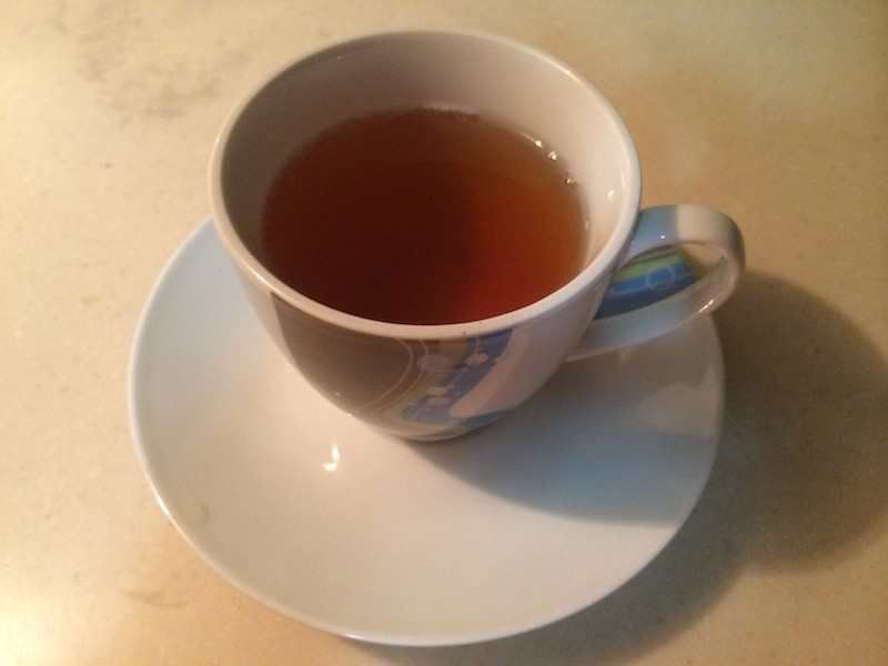 Ginger tea with cinnamon recipe. biteslife.com