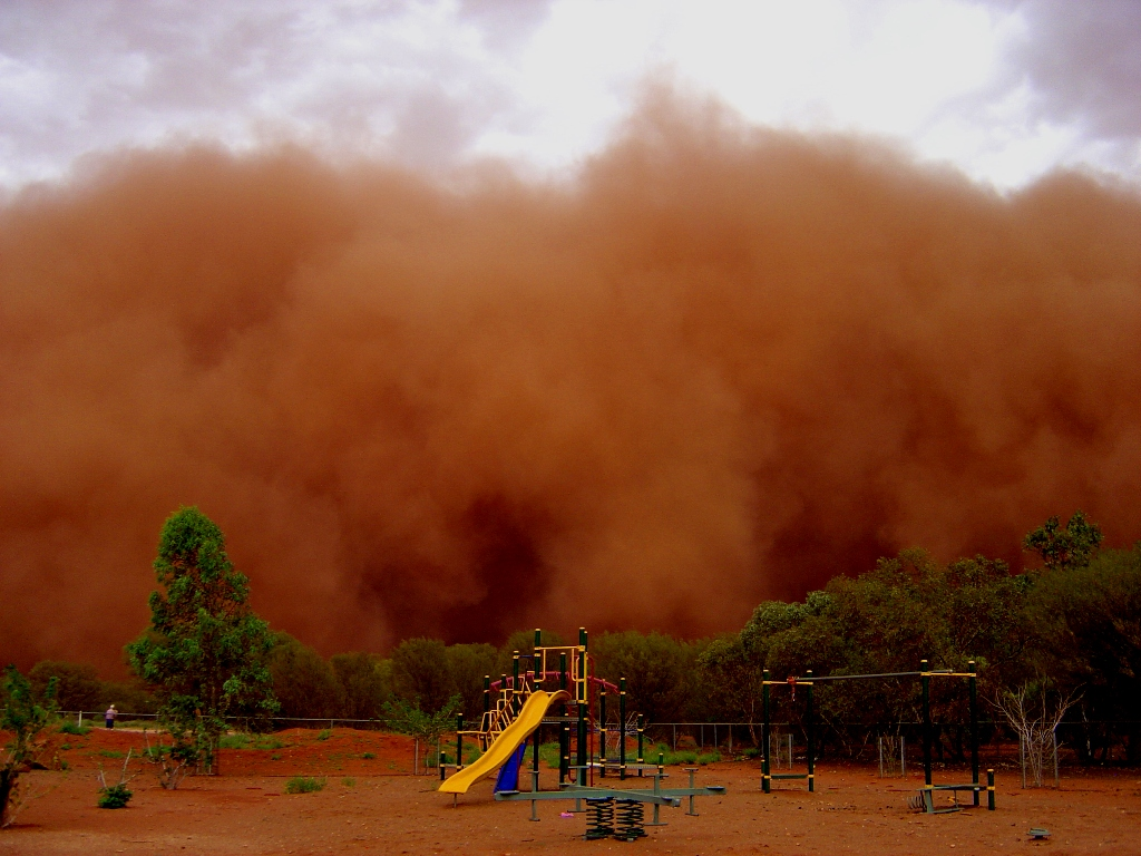 Dusty Food and Dusty Foot, Dust Storm
