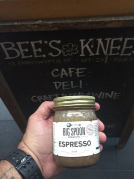 Even found a Nut Butter with espresso