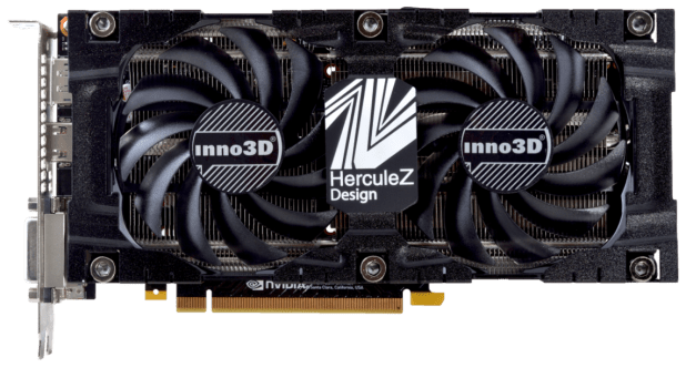 INNO3D GeForce GTX 1070 Twin X2 V3 8GB