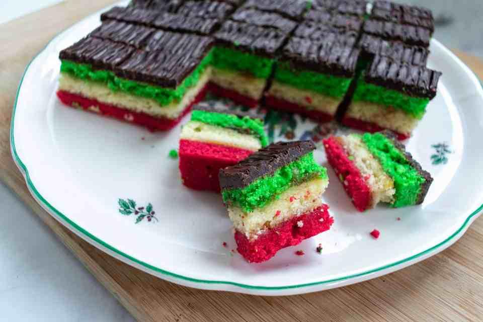 Italian Rainbow Cookies Bite Your Cravings