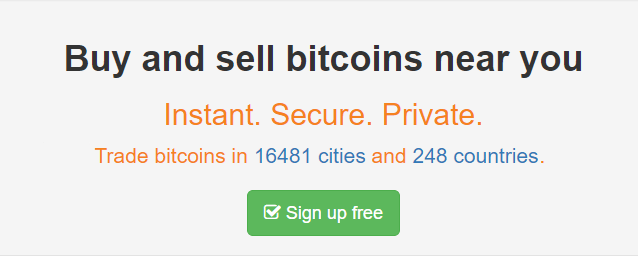 Buy Sell Bitcoins with LocalBitcoins