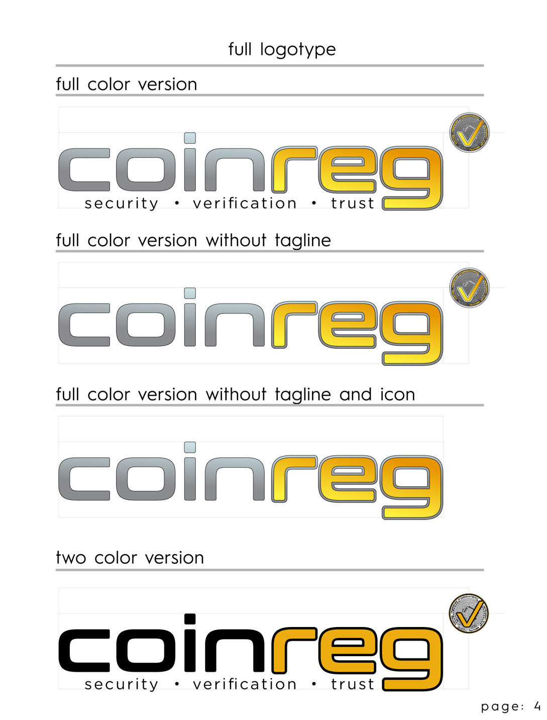 BMS CoinReg LOGO Style Sheet Page 4