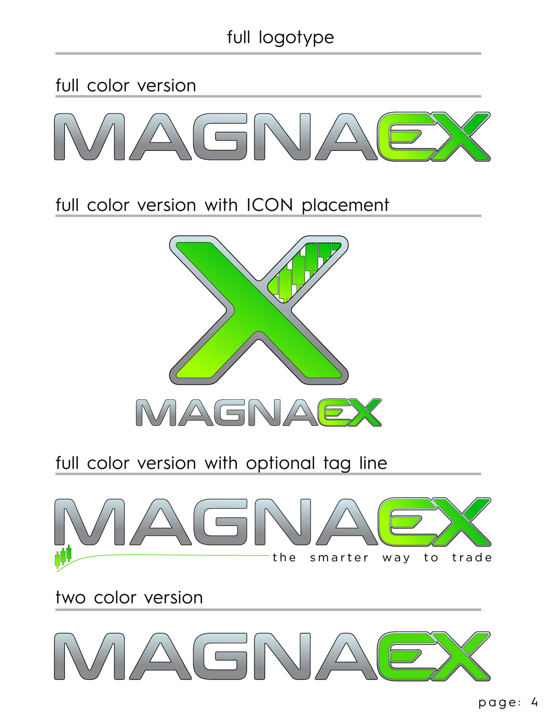 BMS MagnaEX LOGO Style Sheet Page 4
