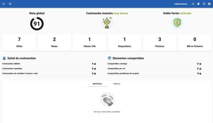 Ciberprotector ciberseguridad seguridad informatica suite herramienta ransomware navegacion segura evitar malware webempresa movil ordenador smartphone vpn contraseñas