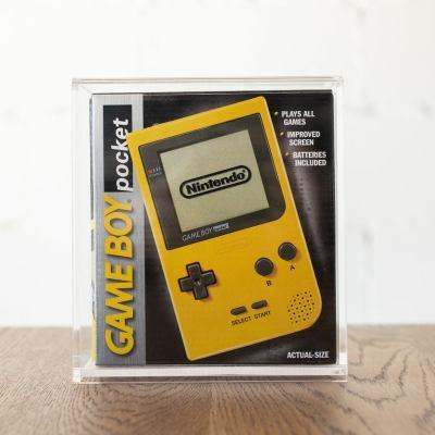Pre-order*** SET of 5 BitLounger SNES Game Box CartVault Acrylic SNES Cartridge Storage for Retro Video Games Tray Bin Collector Case
