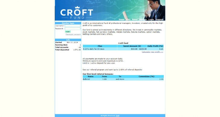 Croft.fund Review