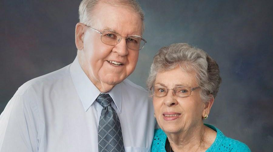 harold & wife