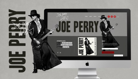 Joe Perry's Official Website - Redesign