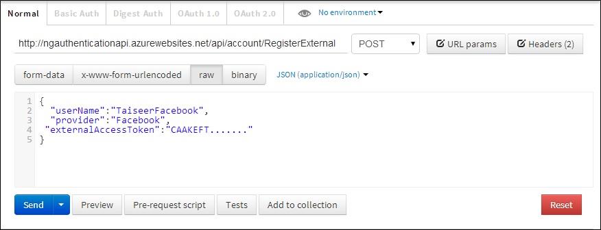 ASP.NET Web API 2 external logins with Facebook and Google in AngularJS app (4/6)