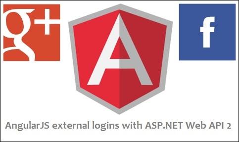 ASP.NET Web API 2 external logins with Facebook and Google in AngularJS app (1/6)