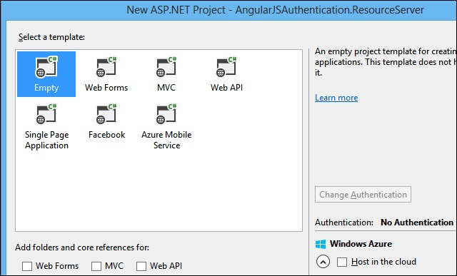 Decouple OWIN Authorization Server from Resource Server (2/5)