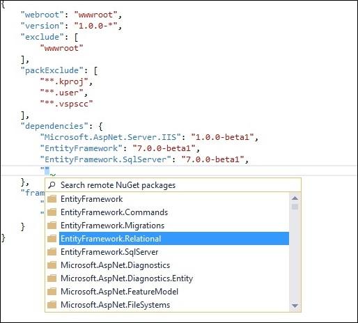 Getting started with ASP.NET 5 MVC 6 Web API & Entity Framework 7 (3/6)