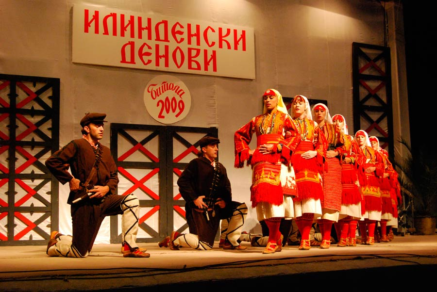 Ilinden Days - Festival of Folk songs and Dances in Bitola, Macedonia