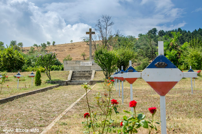 Serbian military cemetery – Balkan Wars and WW1
