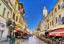 Shirok sokak Bitola - the most famous street in Macedonia