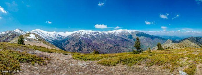 Pelister Peaks - view from Neolica Peak, Pelister National Park, Bitola Macedonia