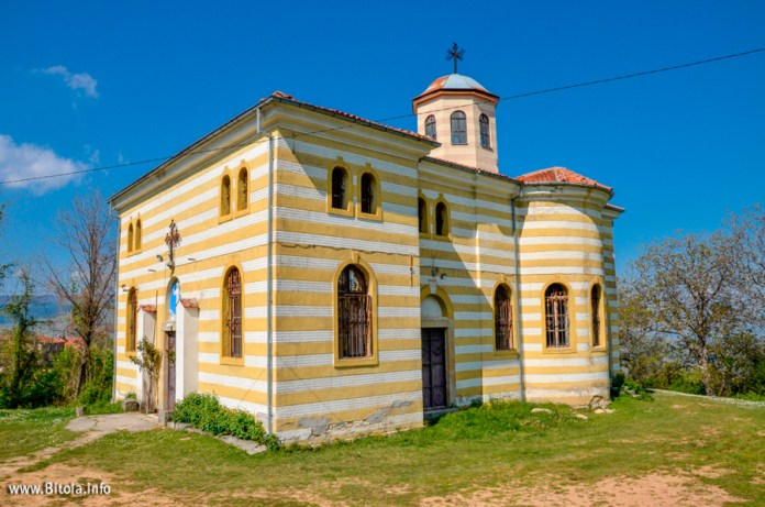 Holy Salvation church in village Brusnik, Bitola, Macedonia