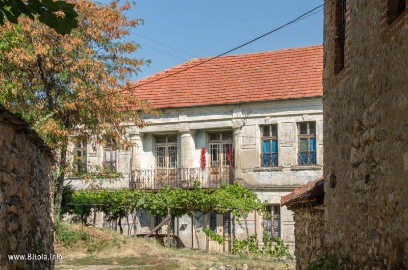 Architecture in village Bukovo, Bitola municipality, Macedonia