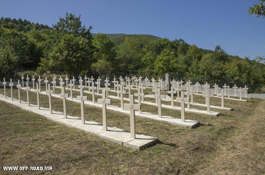 Read more about the article Бугарски воени гробишта од Првата светска војна со село Цапари, Општина Битола