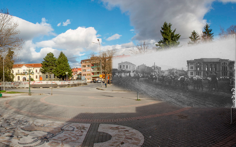Read more about the article Bitola – then and now – French soldiers are entering Bitola during WW1