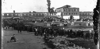 Шах со живи фигури во Битола во 1924 година
