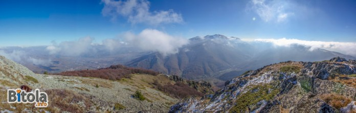 Pelister National Park - Panorama - view from Vrteshka peak