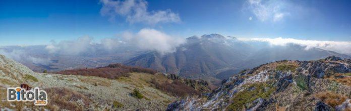 Pelister National Park - Panorama - view from Vrteshka peak