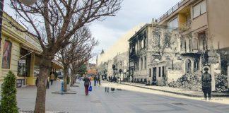 Shirok Sokak street during WW1
