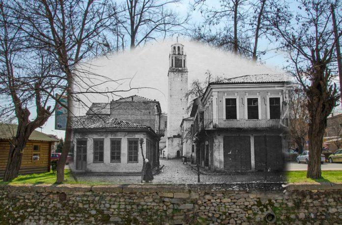 Пекмез пазар и Саат-кулата за време на Првата светска војна - Битола некогаш и денес