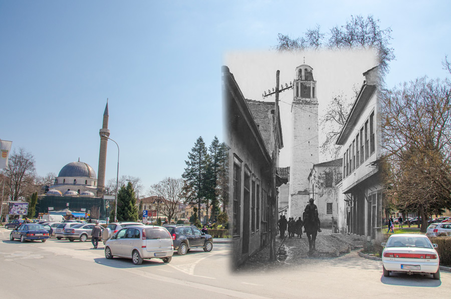 You are currently viewing Clock Tower and Yeni Mosque in Bitola during the First World war – Bitola then and now