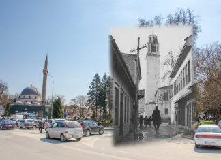 Саат-кулата и Јени џамија за време на Првата светска војна - Битола некогаш и денес