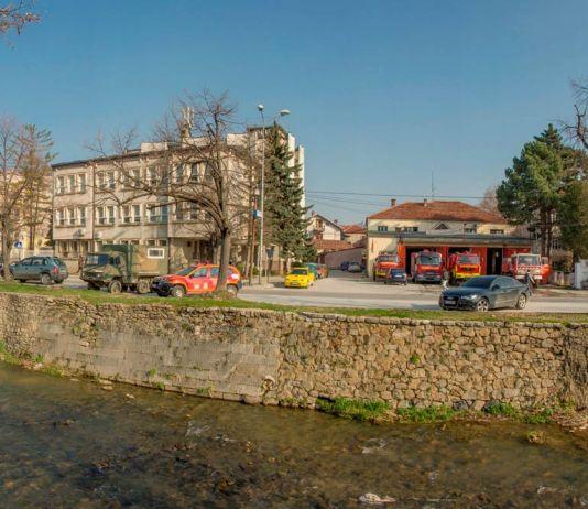 Против пожарна станица Битола