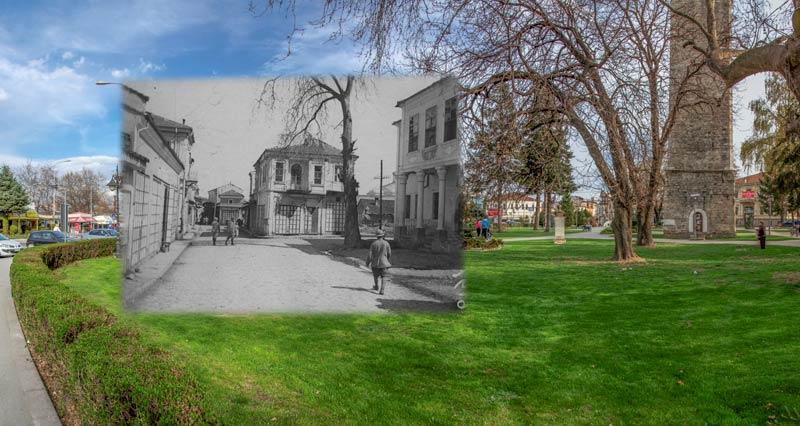 Дел од Пекмез пазар за време на Првата светска војна - Битола некогаш и денес