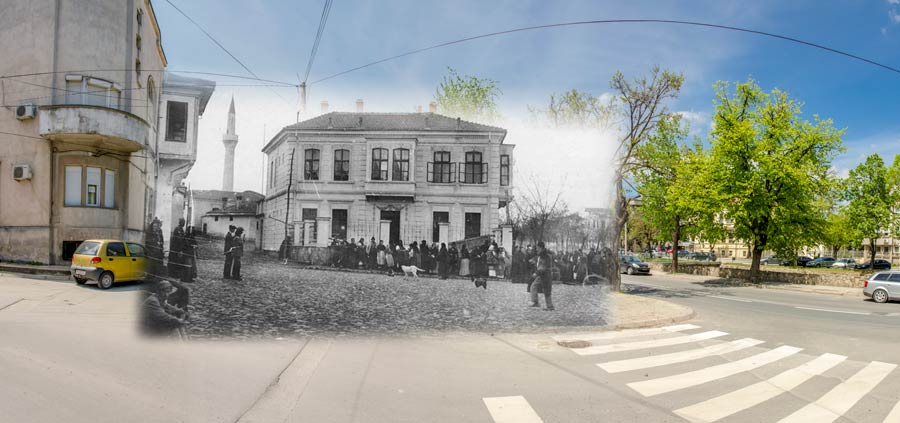 Read more about the article The former court and today's Music School – Bitola then and now