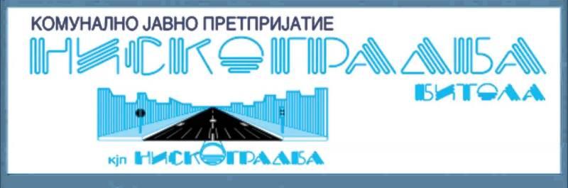 Niskogradba Bitola logo